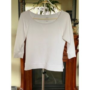 Basic White Sweater